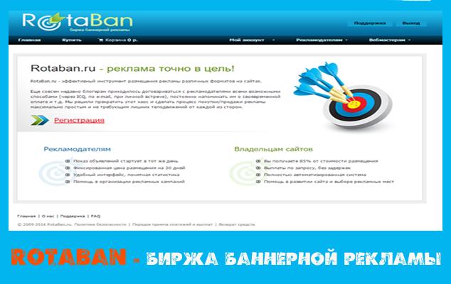 Rotaban Биржа баннерной рекламы