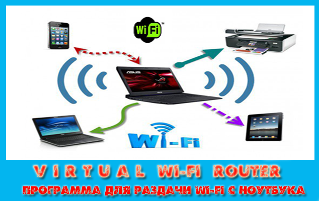 Virtual Wi-Fi Router программа для раздачи Wi-Fi с ноутбука