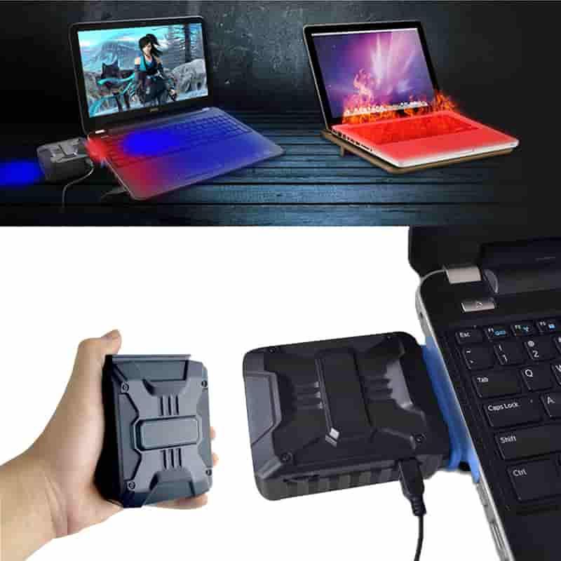 Вакуумный кулер для ноутбука для охлаждения