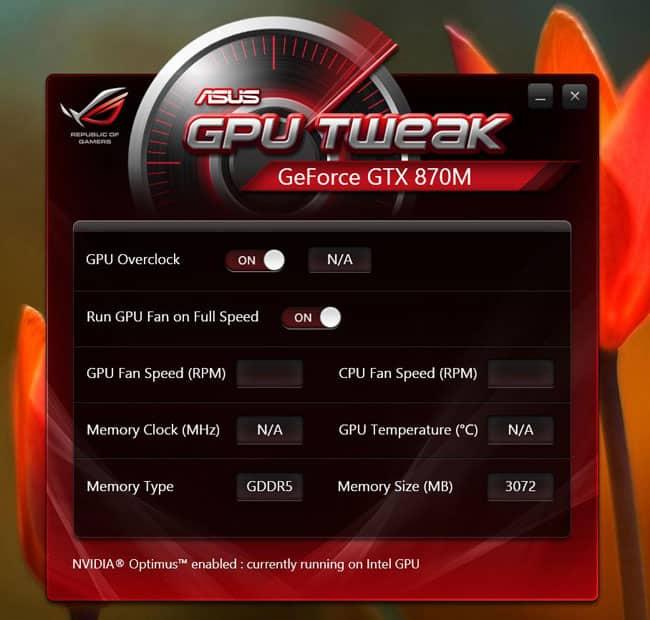 GeForce Tweak Utility