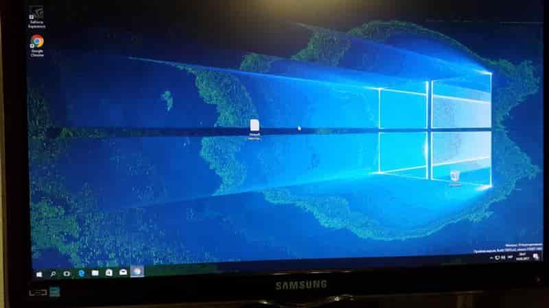 Почему рябит мерцает экран монитора компьютера